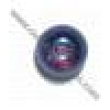 Glass 6mm Amethyst Aurora Borealis Round Luster - Strung